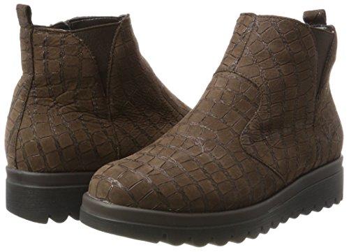 Braun Chelsea Waldläufer Nuba Boots cocco Femme Hodaya xIqRqBa