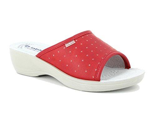 de Travail Pamela Rouge Blu Femme Chaussures In 4qCtwHx