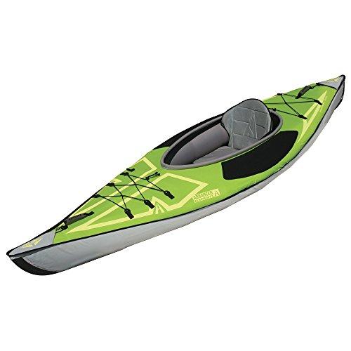 Cheap ADVANCED ELEMENTS Advancedframe Ultralite Inflatable Kayak, Green