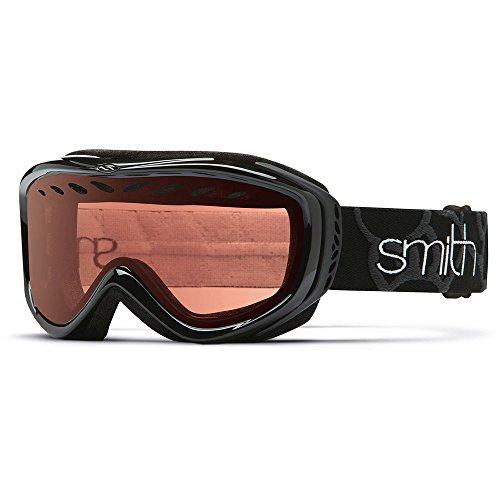 Smith Optics Transit Airflow Series Snocross Snowmobile Goggles Eyewear - Black/RC36/ Small (Small Goggles)