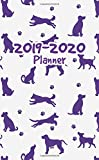 2019-2020 Planner Dog: Two Year Monthly Organizer Pocket Size Notebook