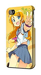 S2022 My Little Sister Cant Be This Cute Ore no Imouto Oreimo Kirino Case Cover For IPHONE 4 4S