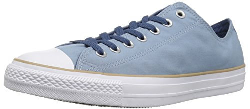 (Converse Chuck Taylor All Star Color Blocked Low TOP Sneaker, Washed Denim/Khaki/White, 11.5 M)