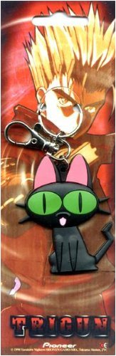 Trigun: Kuro Neko Black Cat Key Chain