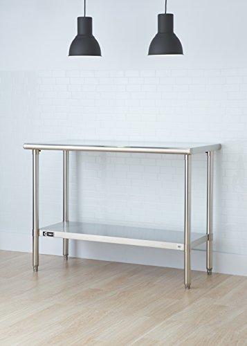 TRINITY EcoStorage NSF Stainless Steel Table, 48-Inch by Trinity (Image #3)