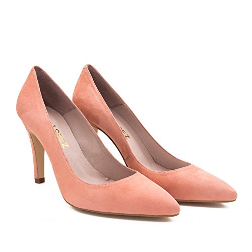 Eva Lopez Peau Eva Salon Lopez Rose Chaussure Chaussure Rose rBzqxRnrT