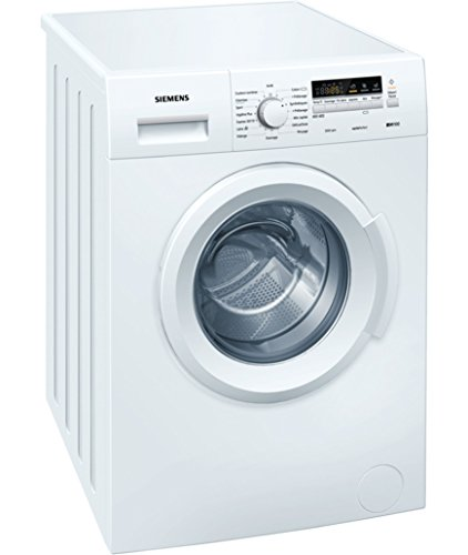 Siemens WM12B211FF Autonome Charge avant 6kg 1200tr/min A+++ Blanc machine à laver - Machines à laver (Autonome, Charge avant, Blanc, boutons, Rotatif, Gauche, LED)