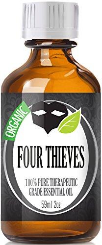 Четыре Воры (органические, 60мл) 100% Pure, лучших лечебно-Grade Эфирные масла - 60 мл / 2 (OZ) унции