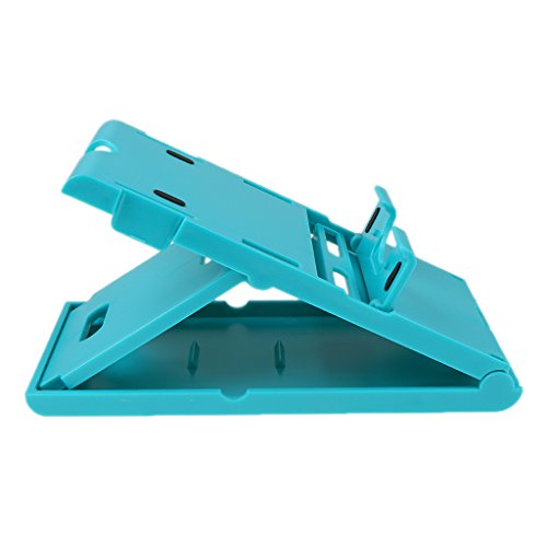 MonkeyJack Adjustable Play Stand Holder For Nintend Switch NS or iPad Phones Dock Base Blue