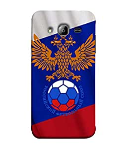 ColorKing Football Russia 30 Multi Color shell case cover for Samsung On7
