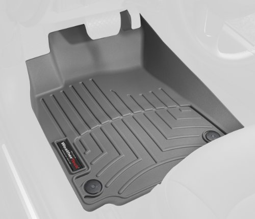 WeatherTech Custom Fit Front FloorLiner for Jeep Commander, Grey