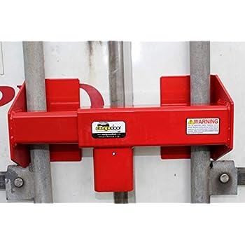 Image of Equipment Lock HDCDL-C Steel Heavy Duty Combination Cargo Door Lock