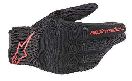Alpinestars Motorradhandschuhe Copper Gloves Black Red Fluo, BLACK/RED/FLUO, XL