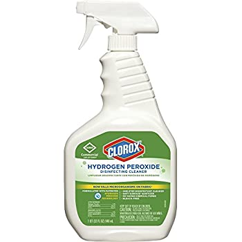 Clorox® Hydrogen Peroxide Disinfecting Cleaner Spray - 1 QT.- Kills Norovirus in 1 min.