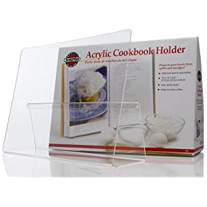 Norpro Acrylic CookBook / IPad / Tablet Holder