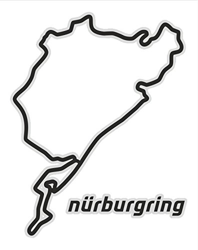Quattroerre 6329 Adesivo Circuito Nurburgring Tabella Quattroerre Italia