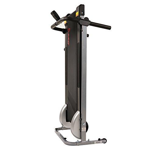Sunny Health & Fitness SF-T1407M Manual Walking Treadmill, Gray by Sunny Health & Fitness (Image #9)