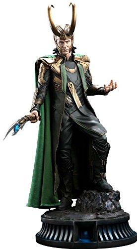 amazon com marvel sideshow collectibles loki premium statue limited