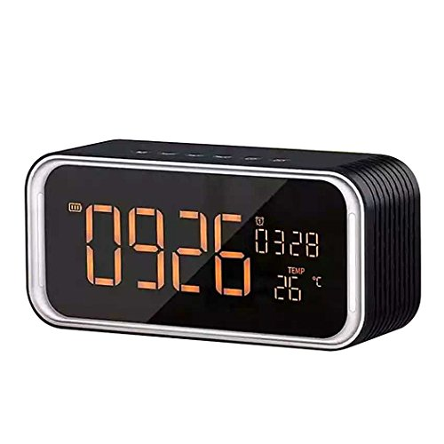 Must have alarm clock