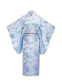 Joy Bridalc Women's Kimono Robe Japanese Traditional Brocade Cosplay Costume