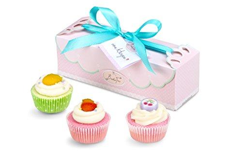 Geschenkset Cupcake Tropical