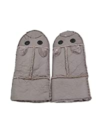 Yosang Handmade Winter Snow Shearling Gloves For boys girls child toddler