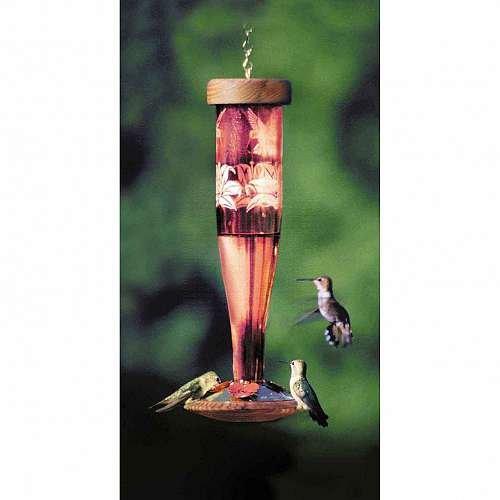 Ruby Hummingbird Lantern (Schrodt Paradise Ruby Lantern Hummingbird Bird Feeder)