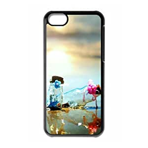 DIY Cover Case with Hard Shell Protection for Iphone 5C case with Charming scenery lxa#225434 by runtopwell