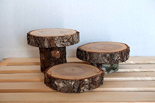 Slices rustic centerpiece Rustic Wedding product image