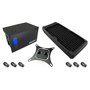 XSPC RayStorm 750 EX240 - Sistema de refrigeración líquida para el ordenador (Radiador), negro