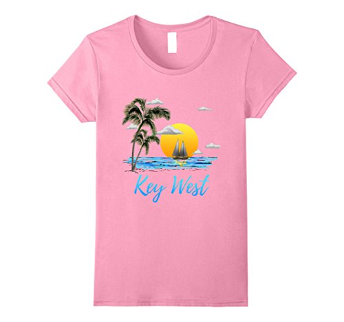 Womens Key West Florida Sailing T-Shirt Medium - Key West Women