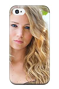 New SaundraVillard Super Strong Jennifer Lawrence Tpu Case Cover For Iphone 4/4s