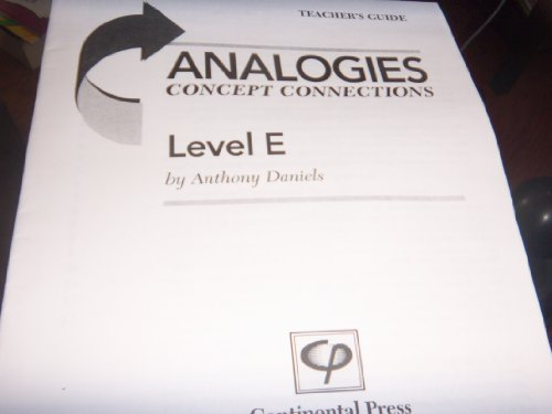 Analogies ~ Concept Connections: Level E