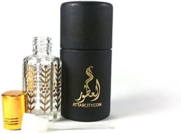 White Oud Supreme - Alcohol Free Long Lasting Arabian Therapeutic Essential Perfume Fragrance body Oil - Attar/Itar/Ittar - Men N Women - Hombre y mujer - By Balad Al Atoor - FREE GIFT OFFER