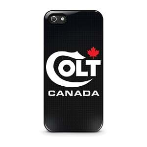Colt Canada Firearms Gun Rifle Logo - Funda Carcasa para Apple iPhone 5 / iPhone 5S