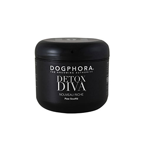 Paw Creme - Dogphora D34-DIVA-PS Detox Diva Natural Paw Soufflé for Dogs with Shea Butter, 4 oz