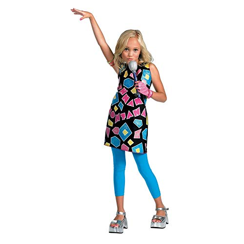 Hannah Montana Geometric Shapes Costume Dress Size 4-6X by Disguise