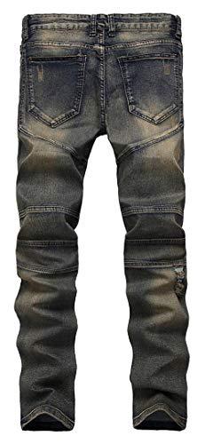 Pantalones Pantalones Pantalones Vaqueros De Lannister Vaqueros Los Elásticos Fashion Delgados Delgados Hombres Los Destruidos Ajustados Black1 Vaqueros Pantalones Hombres Ajustados Skinny De xqOAvYTq