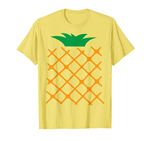 Pineapple Halloween Matching Fruit Group Costume Shirt