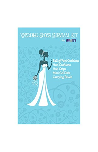 Wedding Day Survival Kit for Bridal Shoes - Perfect Gifts for the Bride, Maid of Honor, and Bridesmaids by Zoomie's (Image #1)