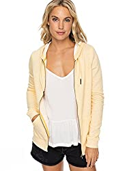 Roxy Womens Trippin - Zip-up Hoodie - Women - S - Yellow Buff Yellow Heather S