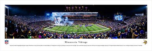 Minnesota Vikings   Tcf Bank Stadium   Blakeway Panoramas Unframed Nfl Posters