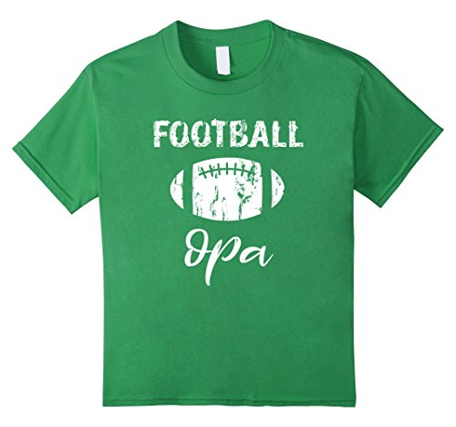 Kids Football Opa T Shirt 8 Grass