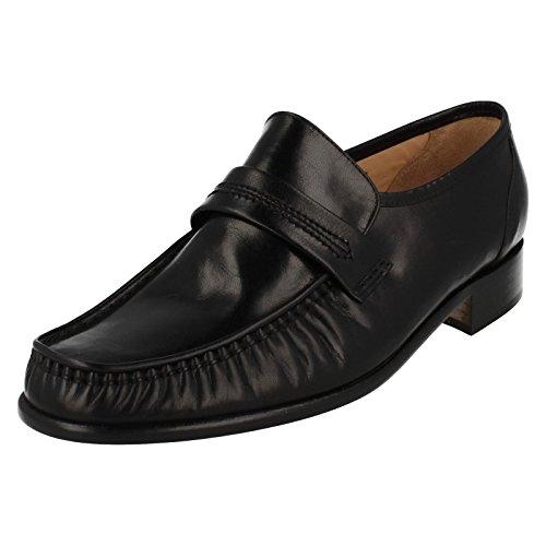 Grenson Pour homme Moccasin Chaussures Watford - Noir - noir,