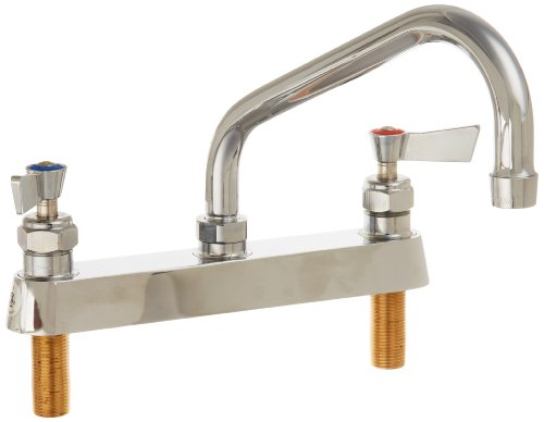 Fisher 3311 Deck Mount Faucet with Swing Spout, 8'' by Fisher