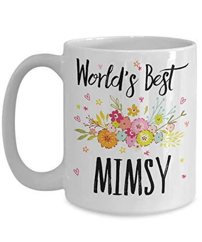Mimsy Mug - World's Best Mimsy - Best Mimsy Ever - A Thank You Or Appreciation Gift - Coffee Cup In 11oz Or 15oz Sizes