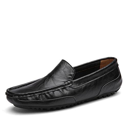 Guisantes de verano zapatos de pedal/Pies zapatos cómodos y respirables/Zapato ocasional de la conducción/Zapatos de marea de Inglaterra C