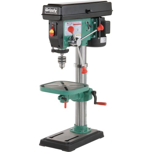 Grizzly G7943 12 Speed Heavy-Duty Bench-Top Drill Press by Grizzly