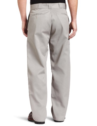 Pant Hombre Dickies Double Para Knee Work Pantalones Silver Gray xnCFfw