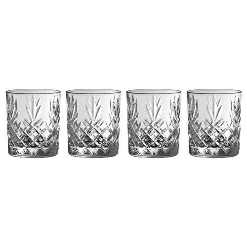 Galway Crystal Set (Galway Crystal 35006/4 Ren more D.O.F (Set of 4) Tumblers, Transparent)